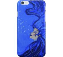 The Blue Woman iPhone Case/Skin
