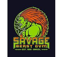 Savage Beast Gym Photographic Print