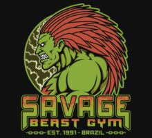 Savage Beast Gym Kids Tee