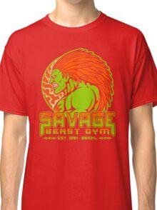 Savage Beast Gym Classic T-Shirt