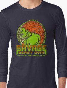 Savage Beast Gym Long Sleeve T-Shirt