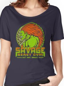 Savage Beast Gym Women's Relaxed Fit T-Shirt
