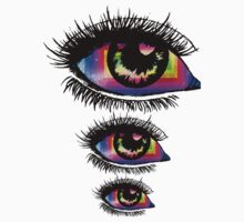 Colorful Eye 3 Kids Tee