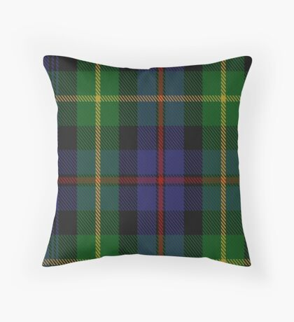 00687 Farquharson Tartan  Throw Pillow