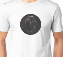 Carton Black Circle Unisex T-Shirt