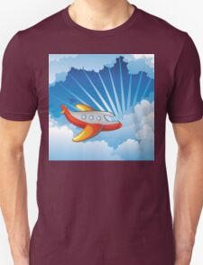 Airplane in the Sky T-Shirt