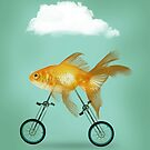 2 wheeled goldfish by Vin  Zzep