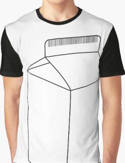 Carton Black Graphic T-Shirt