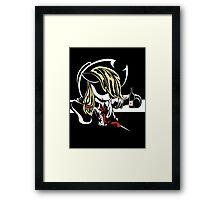 Applejack Noir Framed Print