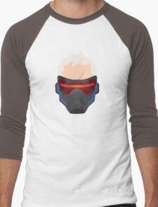 Minimalist Soldier 76 Men's Baseball ¾ T-Shirt