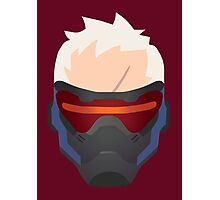 Minimalist Soldier 76 Photographic Print