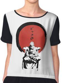 Piccolo Zen Chiffon Top