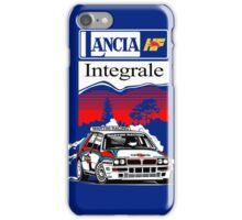 Lancia Integrale  iPhone Case/Skin