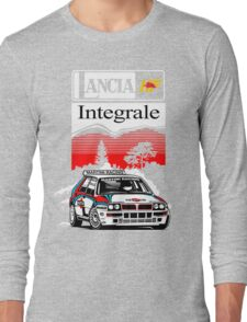 Lancia Integrale  Long Sleeve T-Shirt