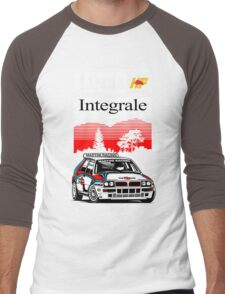 Lancia Integrale  Men's Baseball ¾ T-Shirt