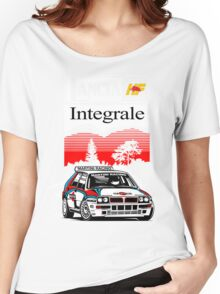 Lancia Integrale  Women's Relaxed Fit T-Shirt