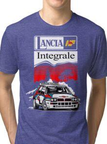 Lancia Integrale  Tri-blend T-Shirt