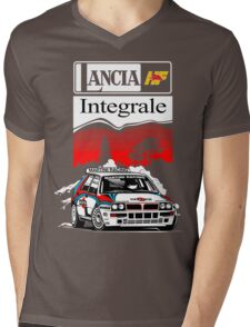 Lancia Integrale  Mens V-Neck T-Shirt