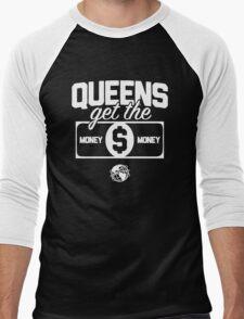 Queens Get the Money Men's Baseball ¾ T-Shirt