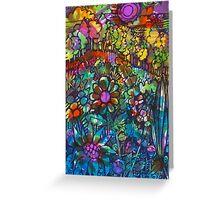 Rainbow Field  - Kerry Beazley Greeting Card