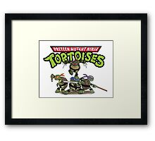 Just Different Enough Framed Print