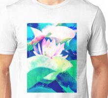 Watercolor Lotus #redbubble #buyart Unisex T-Shirt