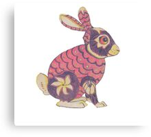 Zodiac Rabbit Canvas Print