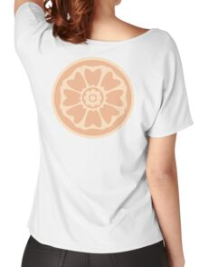 order of the white lotus symbol Women's Relaxed Fit T-Shirt