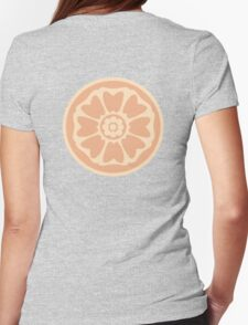 order of the white lotus symbol Womens Fitted T-Shirt