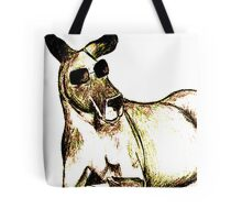 Cool Kangaroo (Colour) Tote Bag