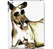 Cool Kangaroo (Colour) iPad Case/Skin