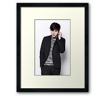 Lee Min Ho 7 Framed Print
