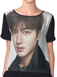 Lee Min Ho 6 Chiffon Top