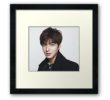 Lee Min Ho 6 Framed Print