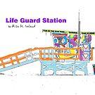 Life Guard Station by Rita  H. Ireland