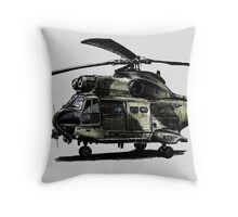 Puma Helicopter Throw Pillow