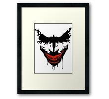 Batman or Joker: What do you see? Framed Print