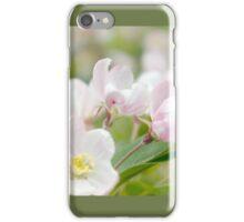 Soft freshness of apple blossom iPhone Case/Skin