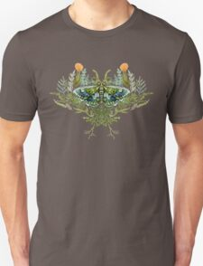 Moth with Plants Unisex T-Shirt