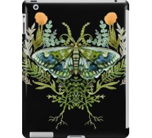 Moth with Plants iPad Case/Skin