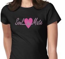 Soulmate right Womens Fitted T-Shirt