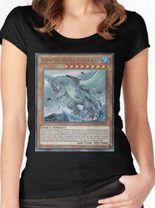 Gameciel, The Mutant ninja Kaiju Women's Fitted Scoop T-Shirt