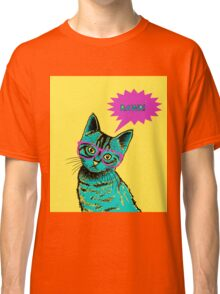kitten art pop Classic T-Shirt