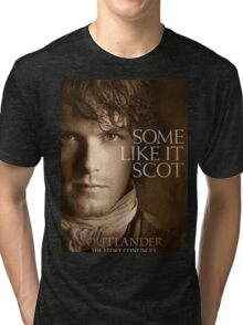 Outlander/Jamie Fraser-Highlander, Warrior Tri-blend T-Shirt