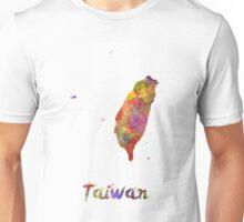 Taiwan in watercolor Unisex T-Shirt