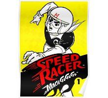 Speed Racer Fantastic Stuff Poster