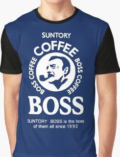 Suntory Boss Coffee Graphic T-Shirt