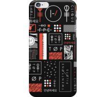 twenty one pilots iphone case blurryface themed iPhone Case/Skin