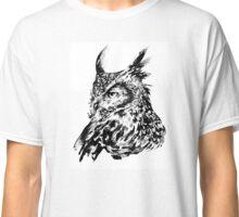 Horned Owl Classic T-Shirt