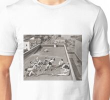 Women Boxing On Roof Unisex T-Shirt